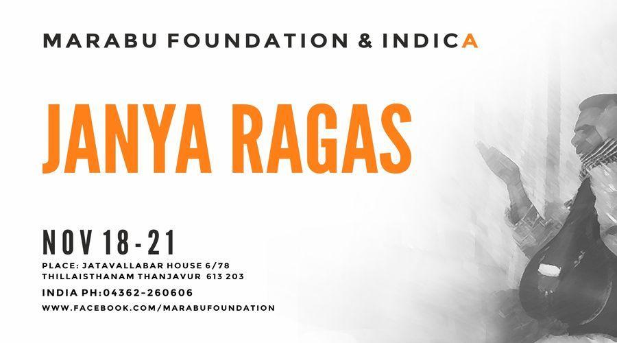 Workshop On Janya Ragas