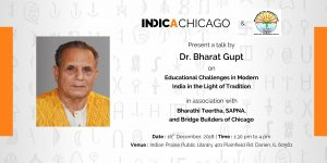 'Educational Challenges in Modern India in the Light of Tradition' by Dr Bharat Gupt.