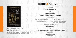 Book Launch of Menstruation Across Cultures by Nithin Sridhar