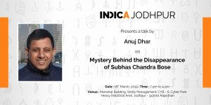 Talk on 'Mystery Behind the Disappearance of Subhas Chandra Bose'