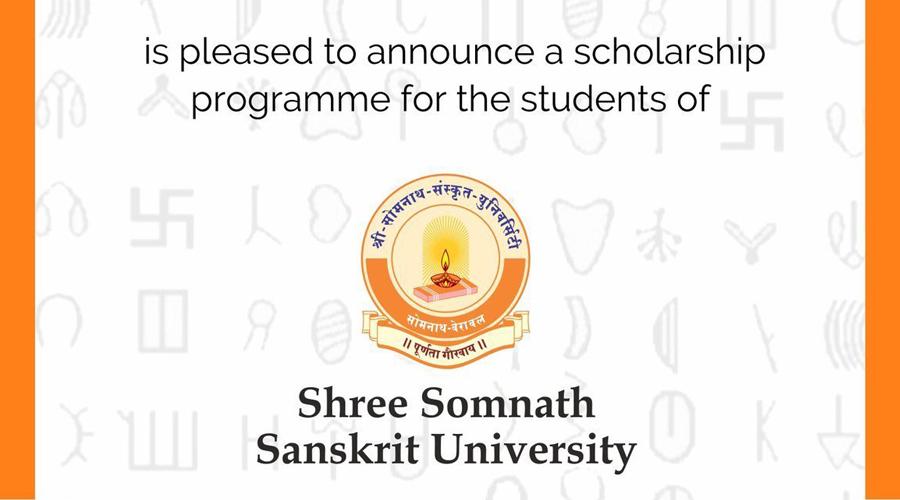 Indic Academy extends scholarship support to Shree Somnath Sanskrit University