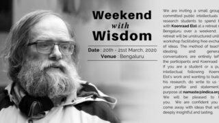 Weekend With Wisdom – Koenraad Elst